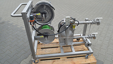 Metal Diaphragm Pump with Guardian system